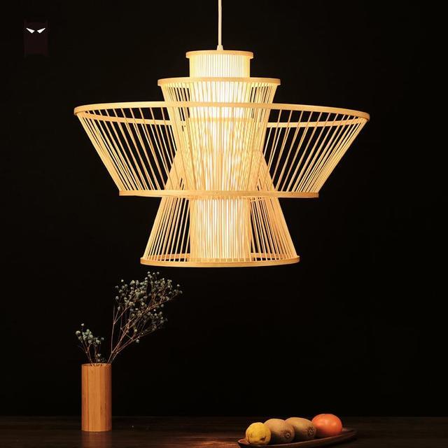 Aliexpress.com : Buy 49cm Bamboo Wicker Shade Woven ...