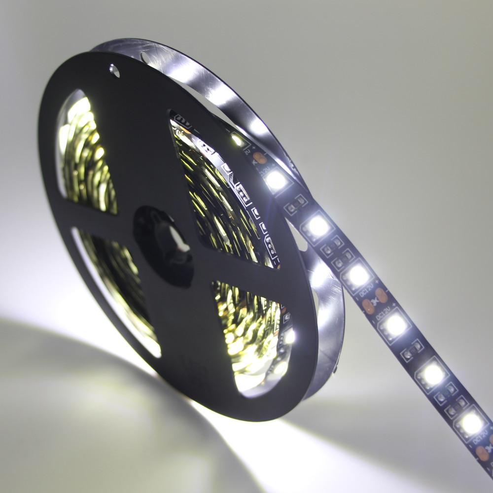 Rgb Led Strip 5050 Smd Flexible Light 12v Cool White Warm