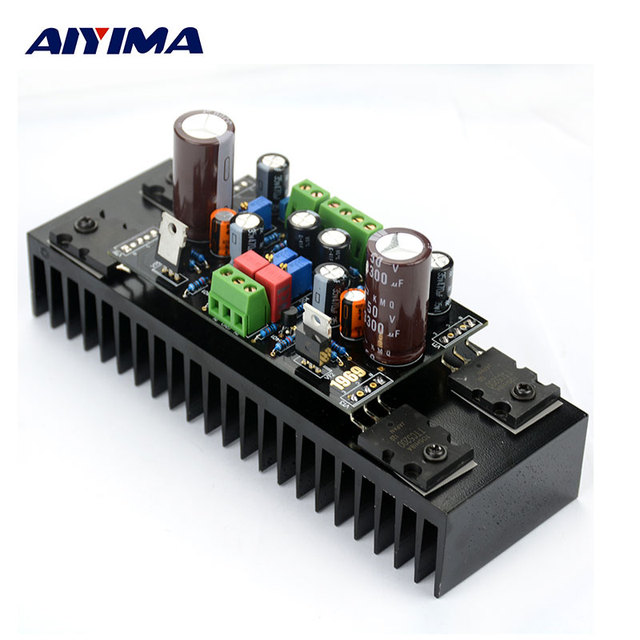 US $33 44 |AIYIMA Amplifiers Audio 1969 DC12 28V 20W Class A Amplifier Hood  Immersion Gold Circuit Board DIY Finish Board With Radiator-in Amplifier