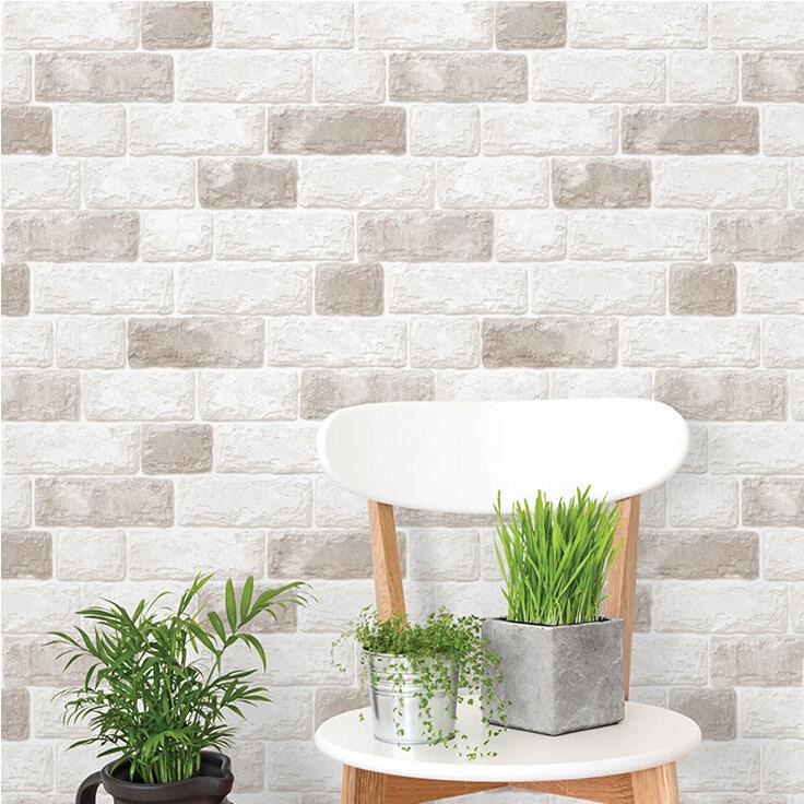 x m pvc moderno fondo de pantalla papel de la pared de mosaico bao