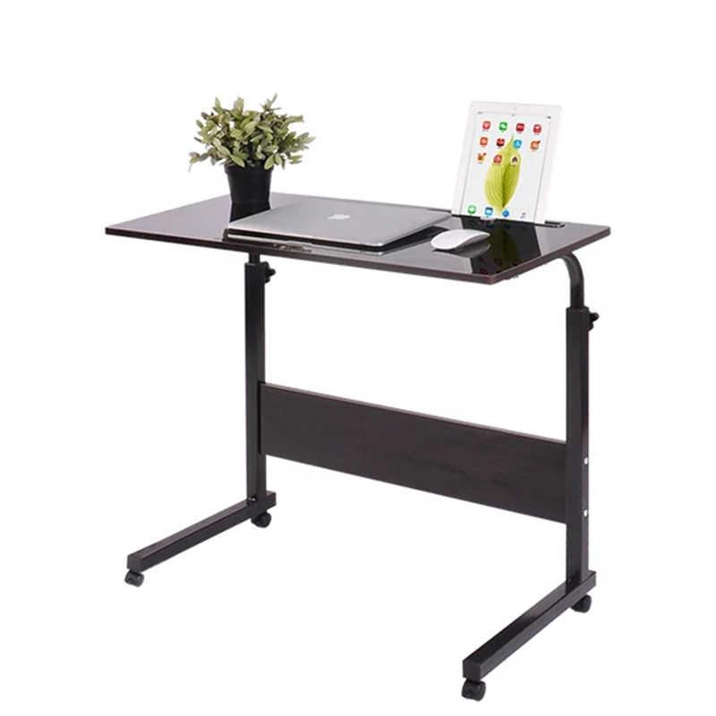 складной стол стол для компьютера Регулируемый Портативный ноутбук стол 80*40 см повернуть столик для ноутбука может быть поднят стоял Рабочий стол