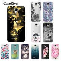 FOR Micromax Q415 Case Silicone Phone Funda Micromax Q415 Case Cover Back Coque Micromax Canvas Pace 4G Q415 Case