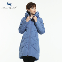 Athena Special 2018 New Women Winter Coat Warm Winter Thick Hooded Parka Womens Bio Down Jackets Female Overcoat High Quality