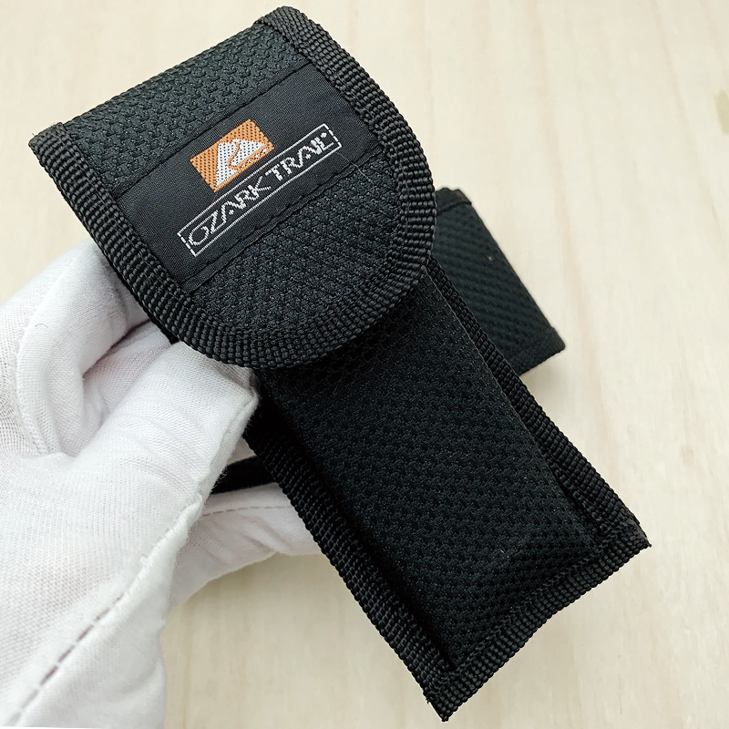 Nylon Bag For Folding Knife Sheath With Velcro