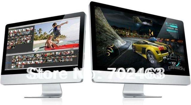 "23.6"" Intel core i3 3240 CPU 3.4GHZ All-in-one PC Windows 7 4GB/ 500GB desktop computer all in one pc"