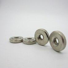 10Pcs DIN467 GB807 M3 M4 M5 M6 ENHandle Nuts Knurled Thumb Nuts