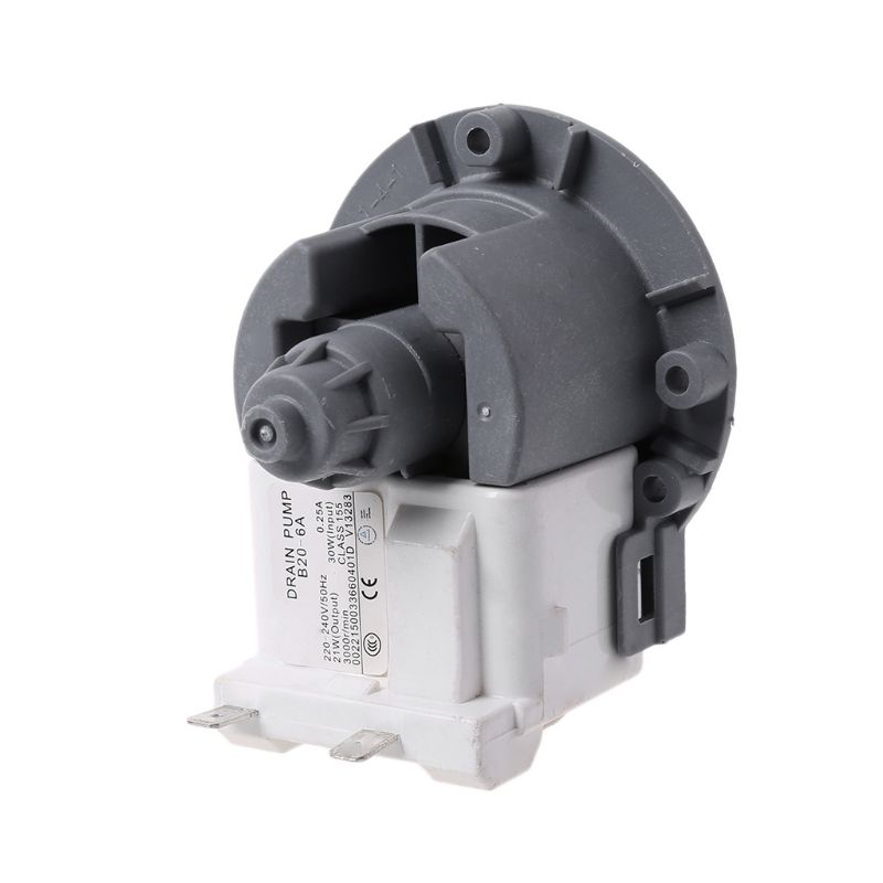 Washing Machine Parts Drain Pump Motor Water Outlet Motors Washing Machine Parts For Samsung For Lg For Midea For Little Swan Drainage Pump Home Appliances