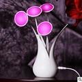Novelty Vase Night Light Sensor Light Colorful Decorative Table Lamp For Children Room Living Room