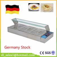 Home Use Food Warmer 1 5KW Commercial Kitchen Equipment Electric Bain Marie For Sale