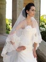 Highest Quality 2 7 3 0 Meter Two Layers Elegant Luxury Long Wedding Veil Bridal Veils
