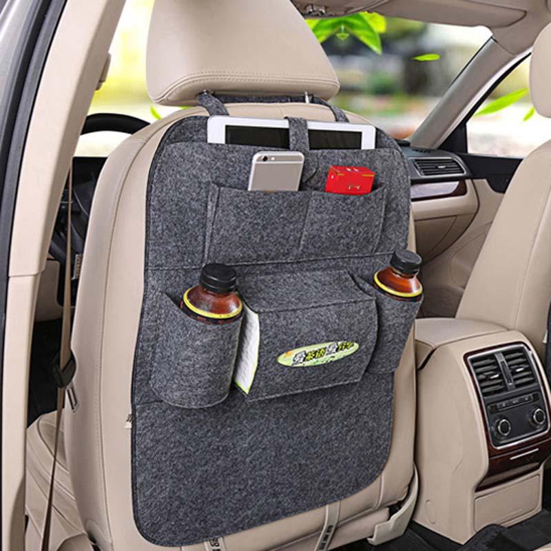 Car Storage Bag Universal Back Seat Organizer Box car Accessories for Suzuki SX4 SWIFT Alto Liane Grand Vitara Jimny