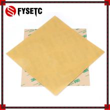3D części drukarki na zimno PEI matowe 3D druku budować powierzchni polieteroimid zimnej PEI blachy 0 3mm grubość dla Creality CR10 ender-3 tanie tanio FYSETC Heatbed