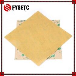 Peças de Impressora 3D Frio PEI PEI Impressão Construir Superfície Fosco 3D Polieterimida Frio Folha de 0.3 milímetros de Espessura Para Criatividade CR10 ender-3