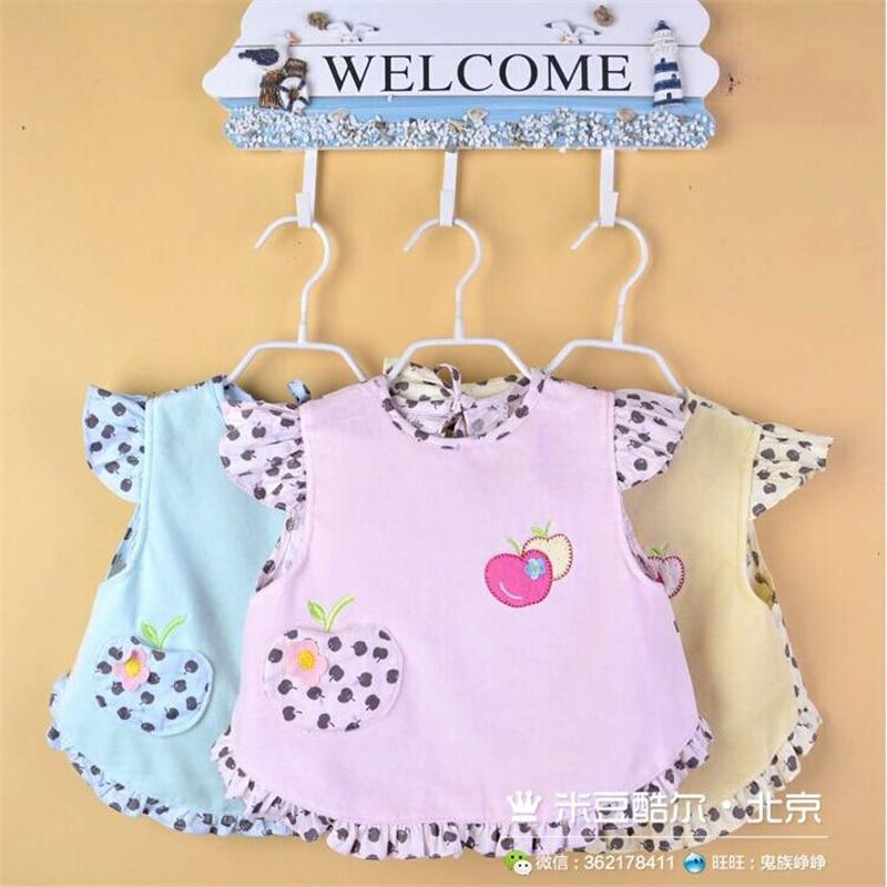 6 modele de moda impermeabil pentru copii bavete pentru pranz catifea - Haine bebeluși