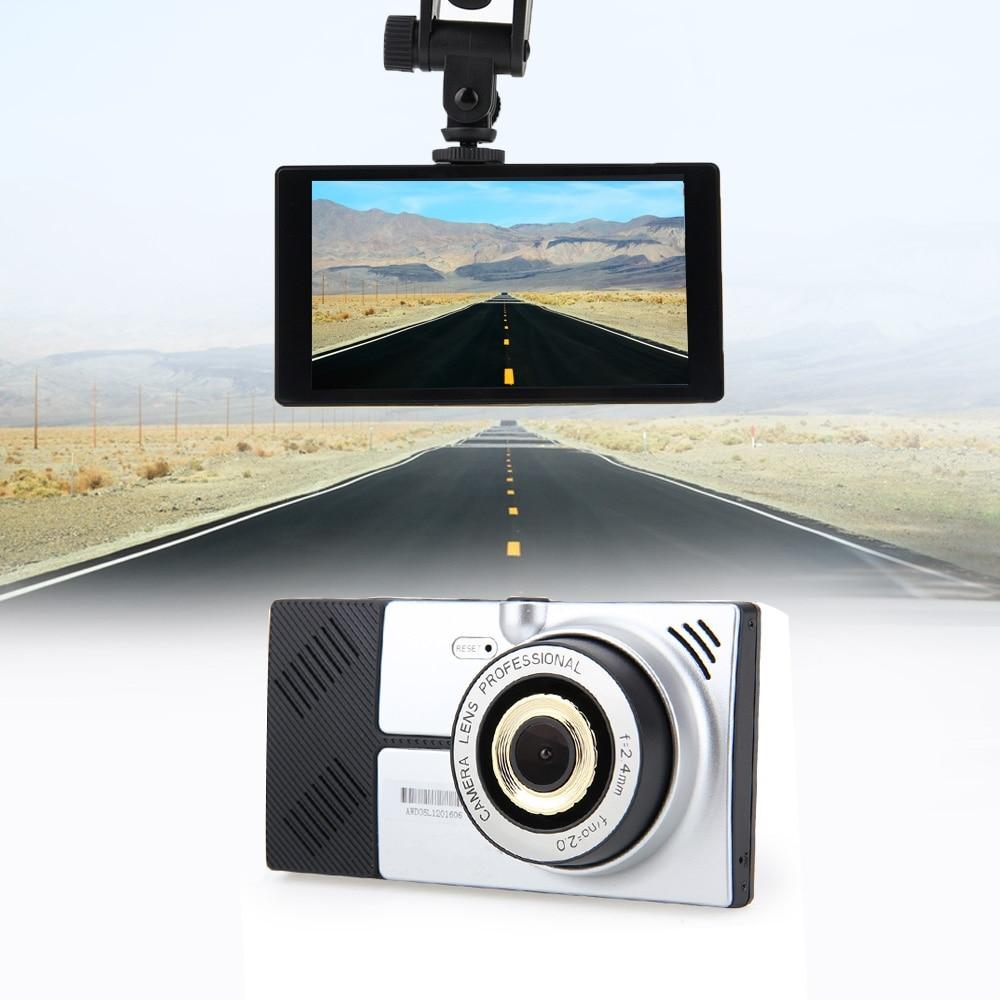 5 Android 4.4.2 четырехъядерный Автомобильный видеорегистратор GPS навигация Wifi Парковка зеркало заднего вида рекордер две камеры видеорегистрат