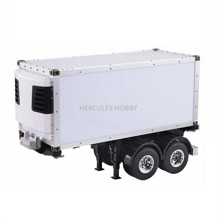 [HERCULES HOBBY] TAMIYA 1 14 Scale RC Model Tractor Trucks Trailer 20 Foot Reefer Made China - HERCULES HOBBY store