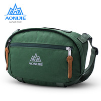 AONIJIE Men Women Sling Backpack Shoulder Chest Crossbody Bag Waterproof Nylon Outdoor Sports Solid Color Unisex