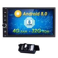 7 Universal magnitol 2din Android 8.0 AutoRadio NO DVD Multimedia Player for nissian x trail qashqai juke Qcta Core GPS Stereo