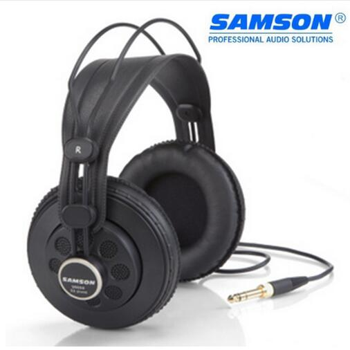 Original Samson SR850 monitoring HIFI headset Semi-Open-Back Headphones for Studio, with leathe earcup,without retail box exhaust tips on jaguar xe