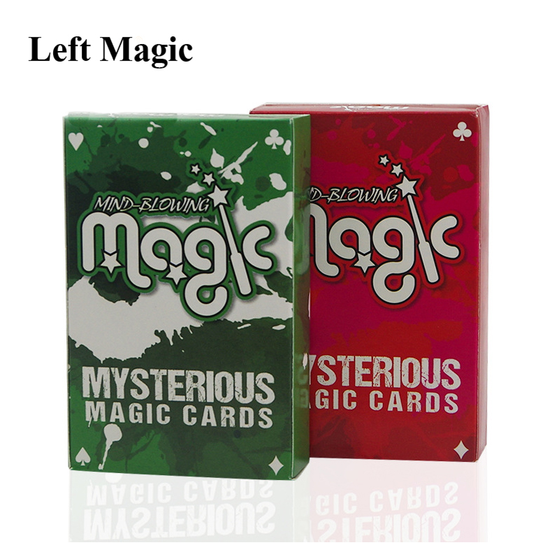 Invisible Poker Deck Magic Tricks  Mind-Blowing Mysterious Magic Cards Playing Card Magic Props Close Up Magic Mentalism Street