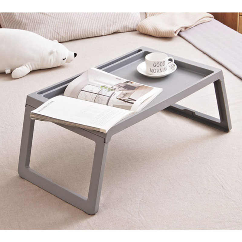 Mesa de ordenador portátil de moda Simple Escritorio de ordenador plegable cama portátil mesa de estudio escritorio para sofá cama