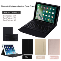 For IPad Air Air 2 IPad Pro 9 7 Detachable Ultra Thin PU Leather Wirelss Bluetooth
