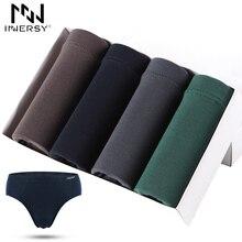 Innersy 2017 Short 4Pcslot Underwear Breathable Briefs Modal Brief Men Sexy Brief Ventilate Plus Size Briefs Men Underwear Thin