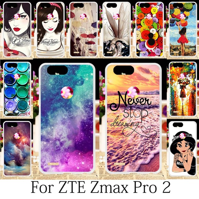 finest selection c17cb a1fa0 US $3.59 |TAOYUNXI For Cases ZTE Blade Z MAX Z982 Case ZTE Sequoia ZTE Zmax  Pro 2 Cover Cute Girls Case Female Anime Cartoon Coque 6.0inch-in Fitted ...