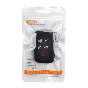 Image 5 - 5 Button Silicone Car Remote Key Fob Shell Cover Case For Land Rover Range Rover Sport Vogue Evoque Discovery 4