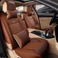 5D Styling Universal Tampa de Assento Do Carro Almofada Para Land Rover Discovery freelander 3/4 2 Gama Sport Sport Evoque Car Styling