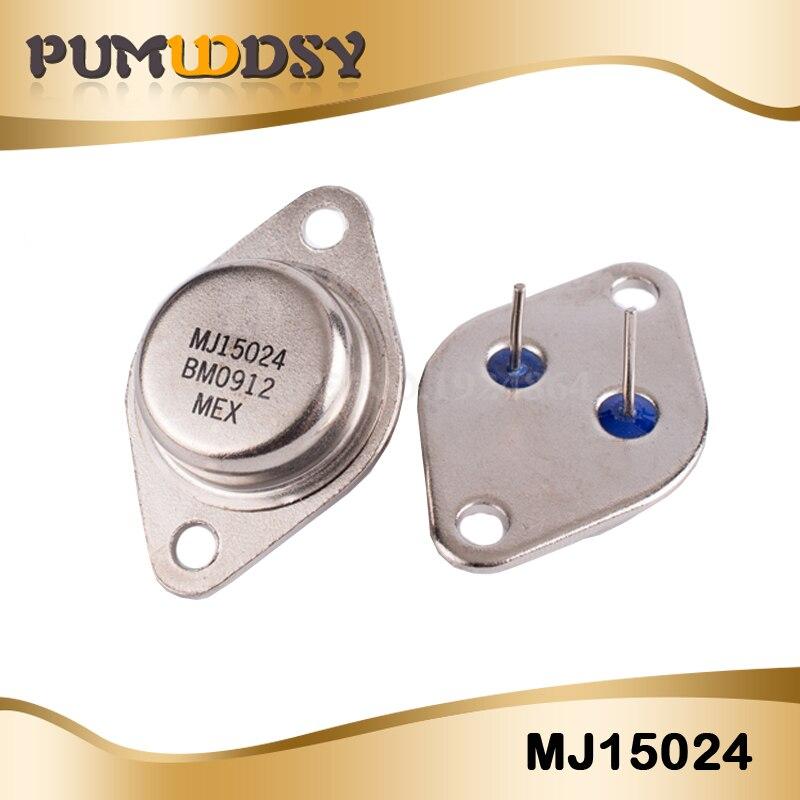 5pcs/lot Gold Seal Transistor MJ15024 MJ15024G TO-3 Original Authentic IC
