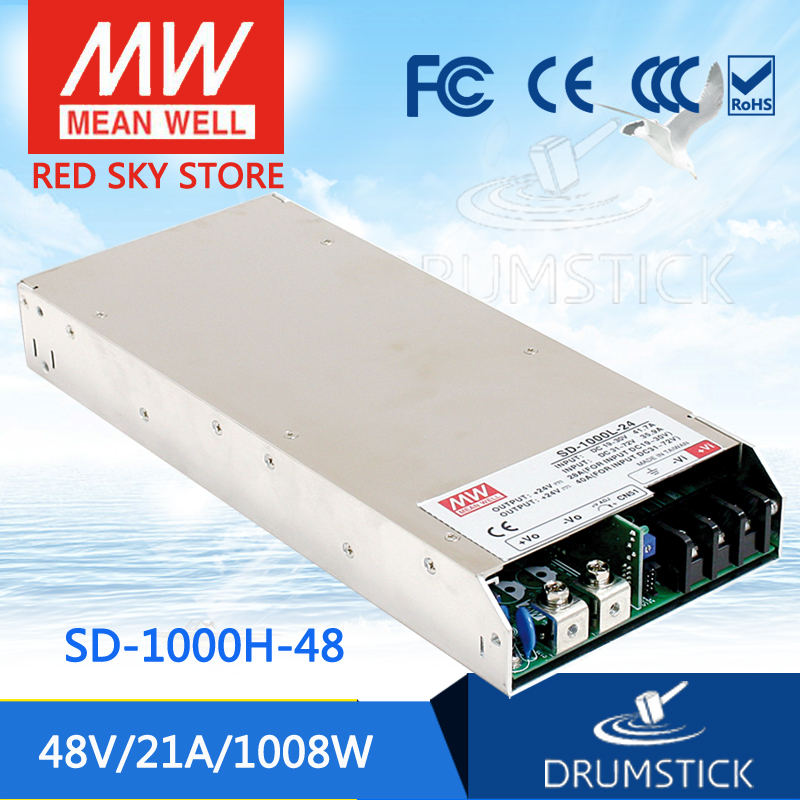 цена на hot-selling MEAN WELL SD-1000H-48 48V 21A meanwell SD-1000 48V 1008W Single Output DC-DC Converter