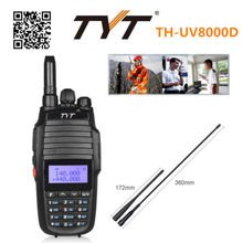 TYT TH-UV8000D Upgrade Dual Band Handheld 136-174/400-520MHz Tri Power 10W FM THUV8000D 3600mA Transceiver Radio Walkie Talkie