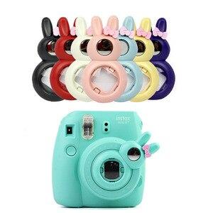 Image 1 - Sevimli tavşan tarzı yakın çekim Lens öz portre ayna Fujifilm Instax Mini /8/8 +/9 anında kamera yeni
