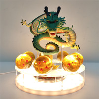 Dragon Ball Z Shenron Crystal Ball LED Night Light Dragon Ball Lamp USB Power Shenlong Dragon Ball Lampara DBZ Table Lamp