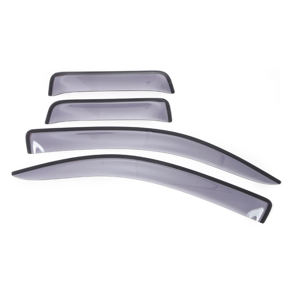 4Pcs/set Window Deflector Visor Vent Wind/Sun/Rain Guards Cover Trim Deocration For Tundra 2007-2016 auto rain shield window visor car window deflector sun visor covers stickers fit for toyota noah voxy 2014 pc 4pcs set