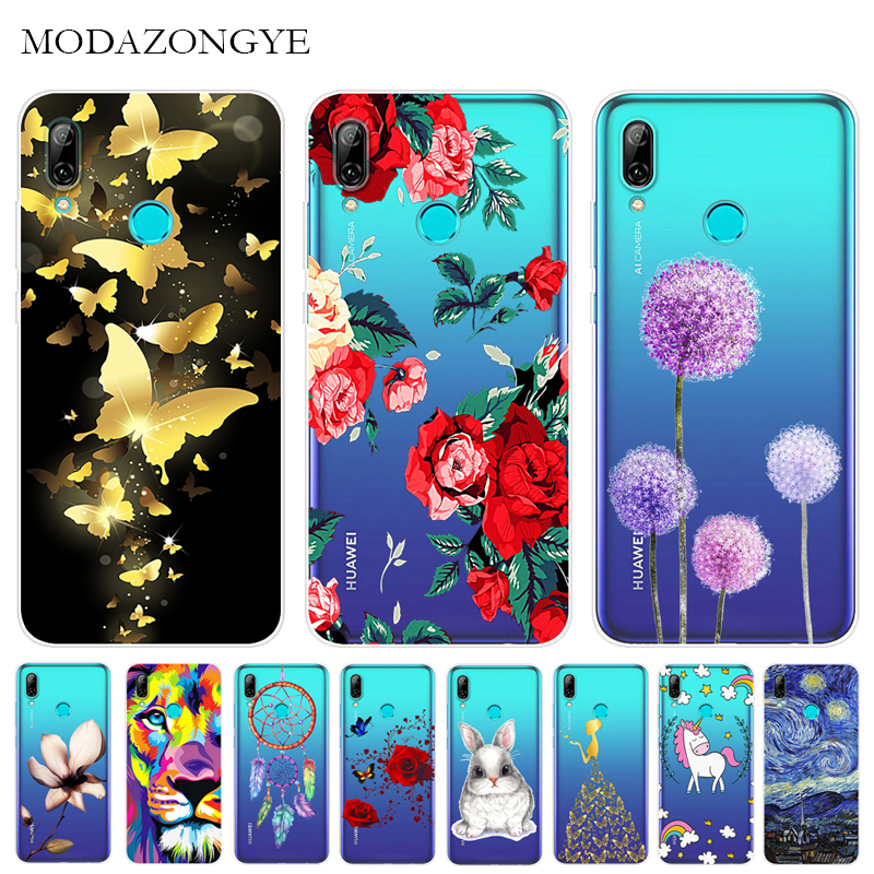 Novelty Phone Case For Huawei P Smart 2019 Cover Smart2019 Pot-lx3 Pot-lx1 Avengers Silicone Case Coque For Huawei P Smart 2019 Without Return Fitted Cases