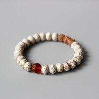 Wholesale Xingyue Bodhi Seed Rudraksha Beaded Bracelet Unisex Tibetan Buddhist Prayer Yoga Meditation Wrist Jewelry Handmade