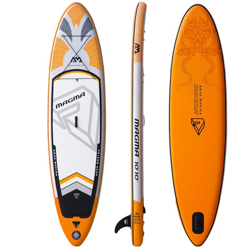 330*81*15 cm gonflable planche de surf stand up paddle conseil AQUA MARINA MAGMA pédale contrôle conseil sup sac laisse paddle a01005 - 3