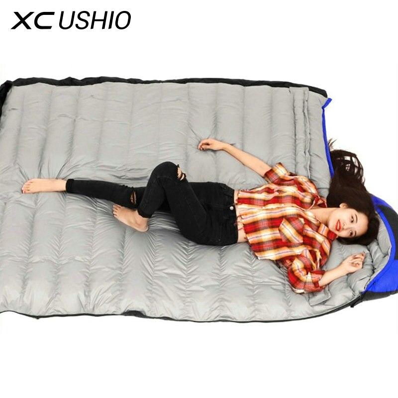 Outdoor Ultralight Camping Sleeping Bag Envelope White ...