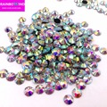 Promotion Super glitter rhinestones Crystal AB ss3&ss30 DMC Nail art strass Sewing&Fabric for clothes gament accessaries supply