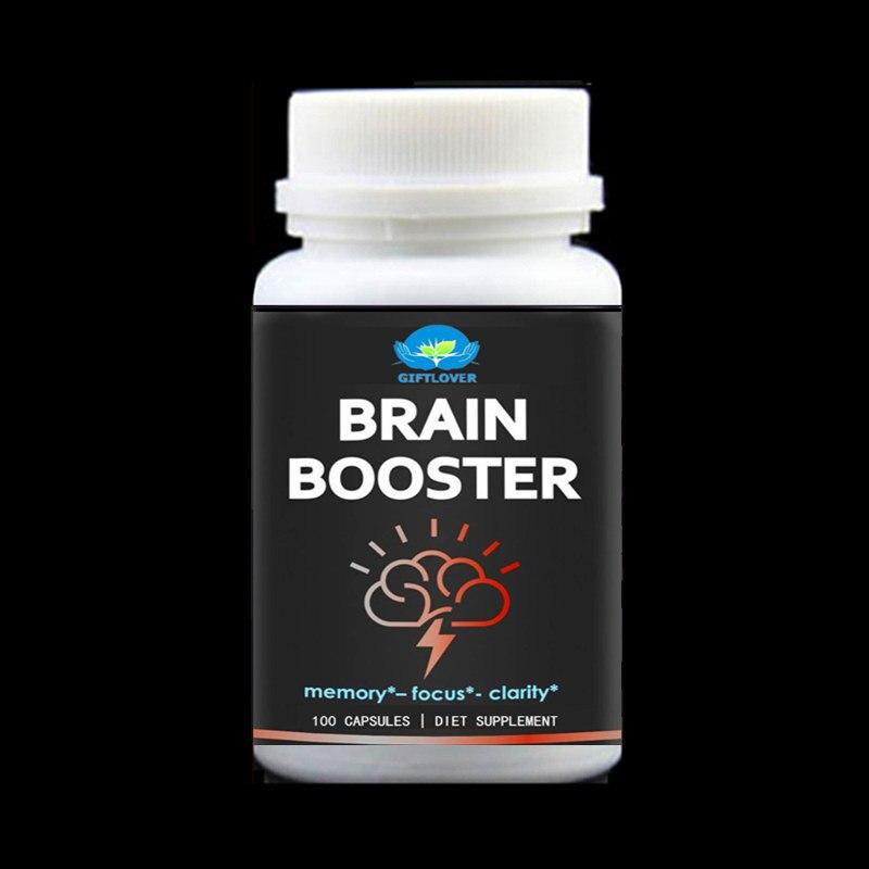 Brain Booster for Premium Brain Function,Supports Memory with Focus & Clarity,Formula for Optimal Performance,Ginkgo Biloba,DMA поддержка нервной системы now foods ginkgo biloba 60mg 240 капс
