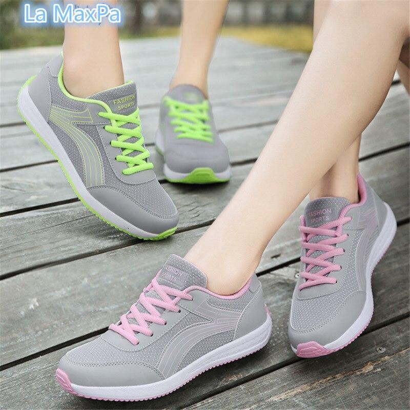 Женские кроссовки спортивная обувь zapatos mujer кроссовки дышащая обувь для бега для женщин прогулочная беговая Обувь женские кроссовки