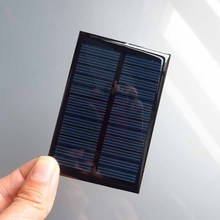 5pcs x 6V 0 6W 100ma Mini monocrystalline polycrystalline solar generator module panel battery charger enducation