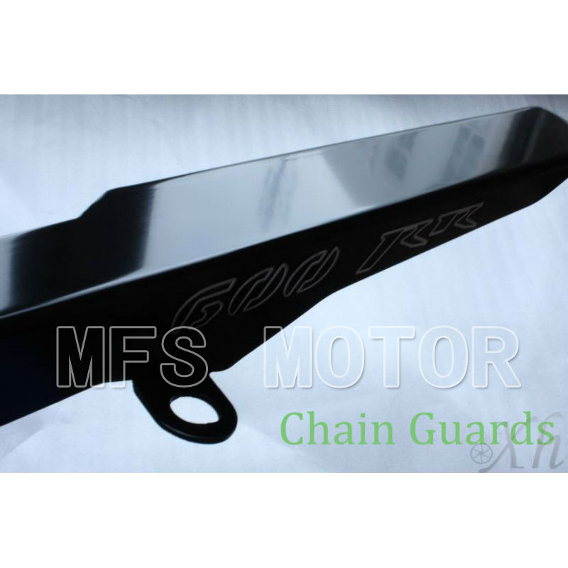 ФОТО Motorcycle Parts Black Chain Guards Cover For Honda 2003-2012 CBR 600 RR CBR600RR