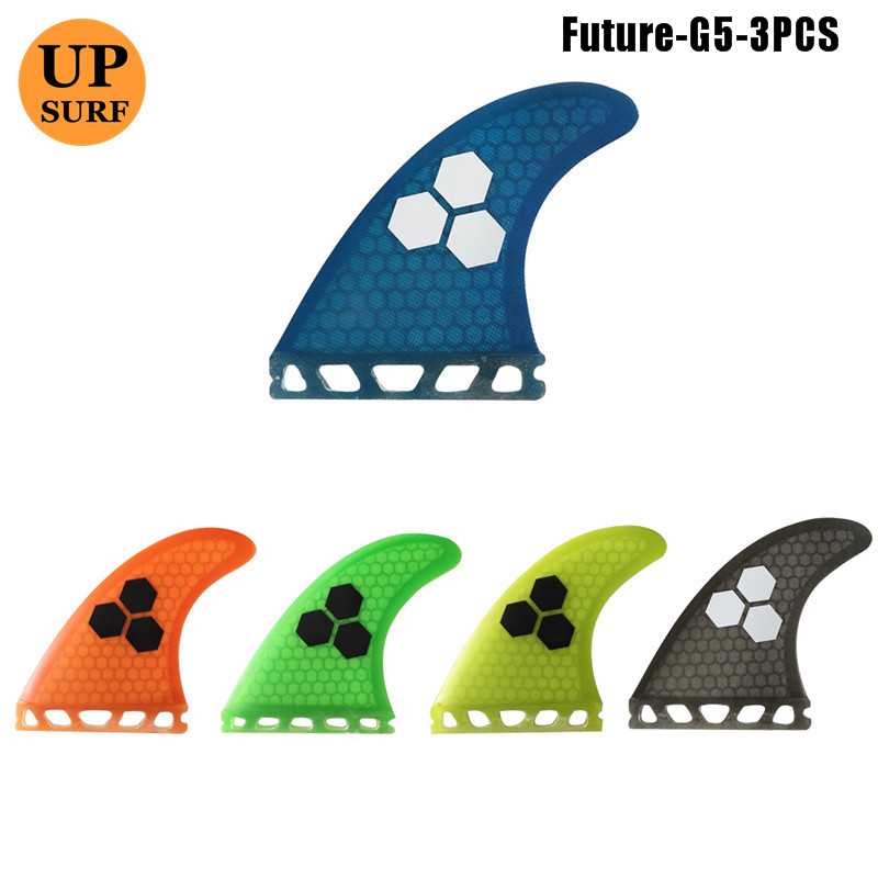 G5 Wake Board Free Shipping SUP Board Fins M Size Orange Fiberglass Future Fins de Surfing Quilhas in Surfing from Sports Entertainment