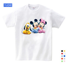 Summer short-sleeved T 3 T-9 Duck Donald Mickey mouse cartoon children clothes new fashion 2019 sport YUDIE