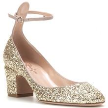 Shofoo Frauen Navy Blue & Silber & Gold Punkt Zehe Glitter High Heels Pumps Schuhe für Frau, zapatos mujer scarpe donna