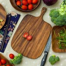 Japanese Style Wood Chopping Board Kitchen Cutting Board Chopping Blocks Bread cheese board square chopping board
