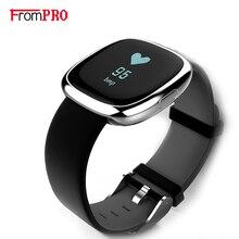 Роскошные P2 Bluetooth Smart Браслет монитор сердечного ритма SmartBand Монитор артериального давления водонепроницаемый IP67 браслет для IOS Android